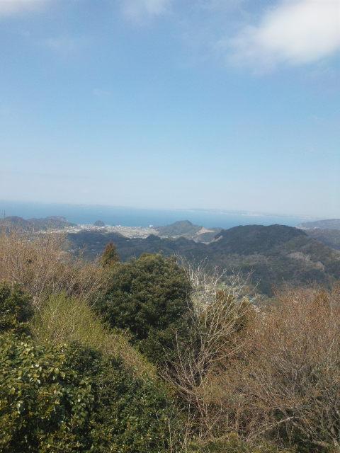 千葉県 富山 山頂 展望台からの眺め