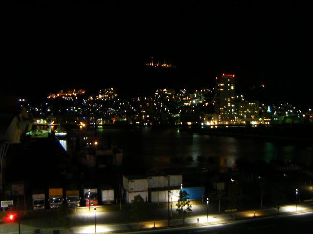 長崎アパホテル夜景