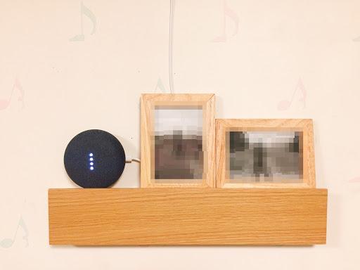 Google Home mini ディスプレイ