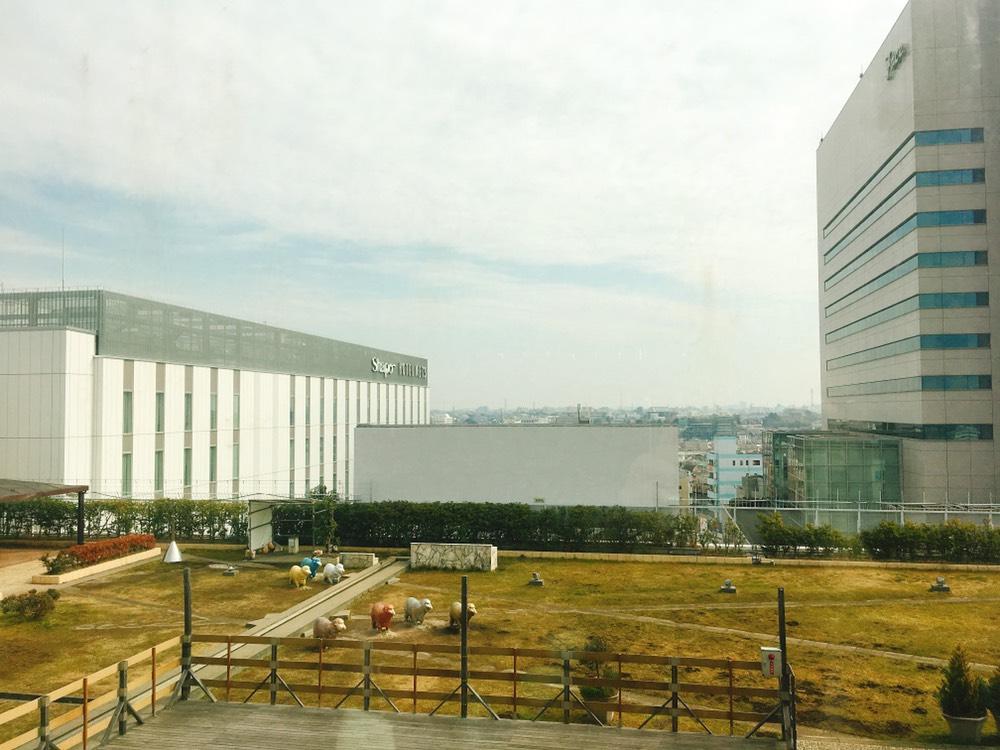 船橋西武10階からの眺め