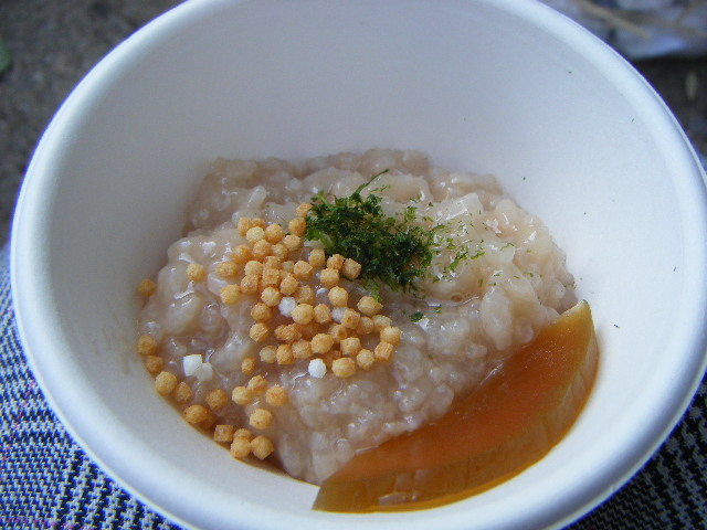 奈良の茶粥と奈良漬