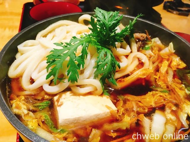奈良 むぎの蔵 和牛うどんすき鍋