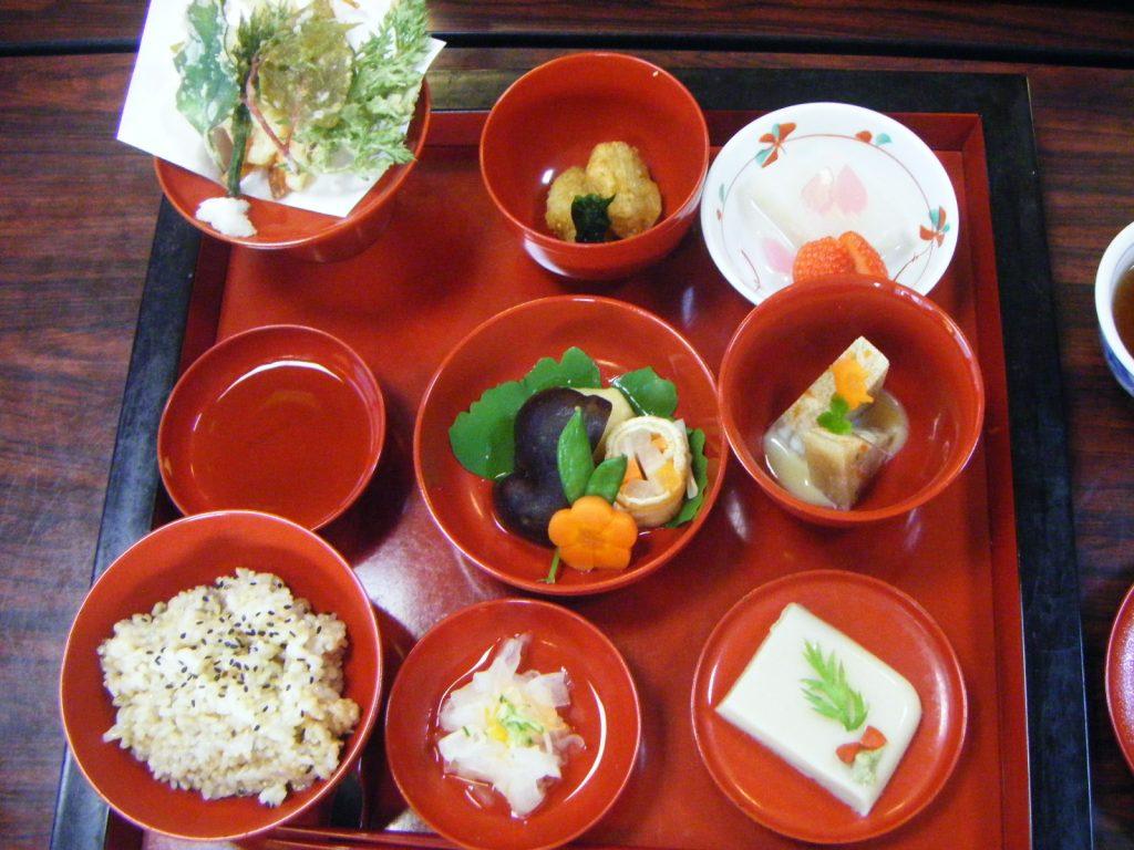 仙遊寺 宿坊 精進料理