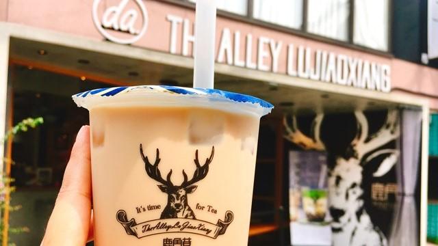 原宿「ジ・アレイ ルージャオシャン」でアッサムタピオカミルクティーを飲んできた!