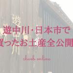 【奈良みやげ】遊中川と日本市で買ったお土産全部紹介します!