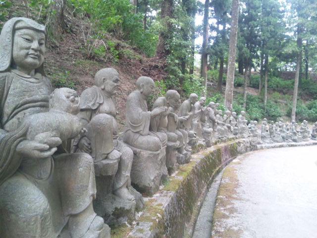 雲辺寺の五百羅漢