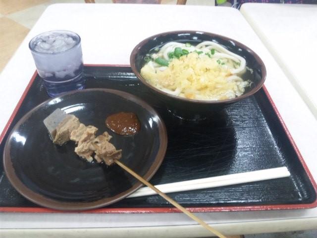 坂出駅前イオンで食べたうどん