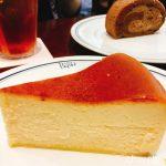 パパスカフェのベイクドチーズケーキ