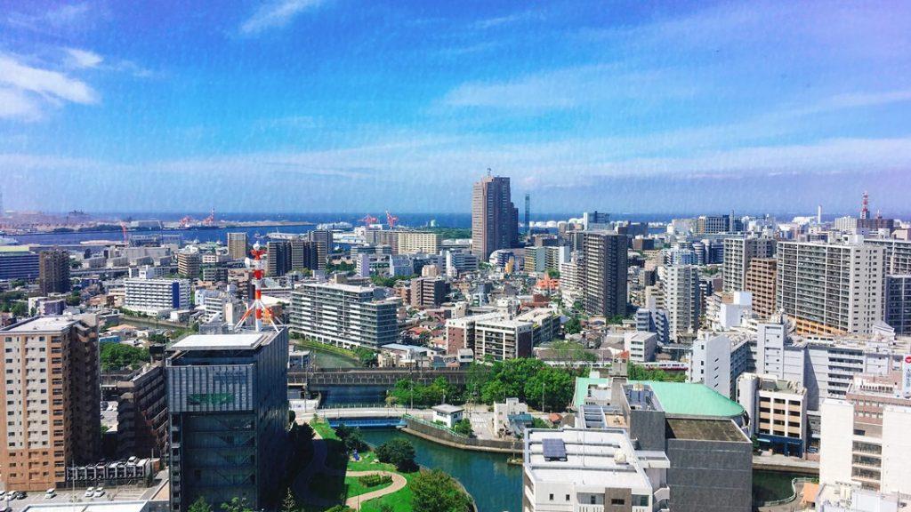 千葉県庁 展望回廊からの眺望