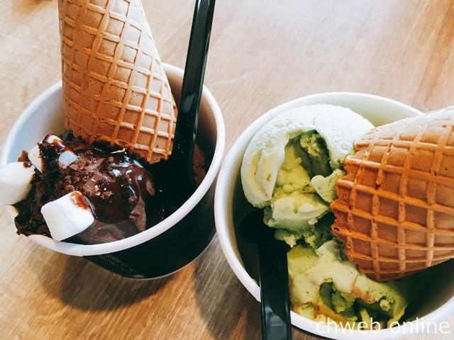 ケーズハーバーで食べたアイス