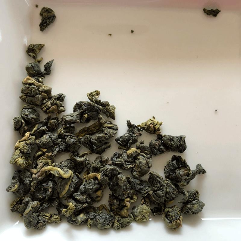 ルピシア台湾烏龍茶冬摘み茶葉の写真